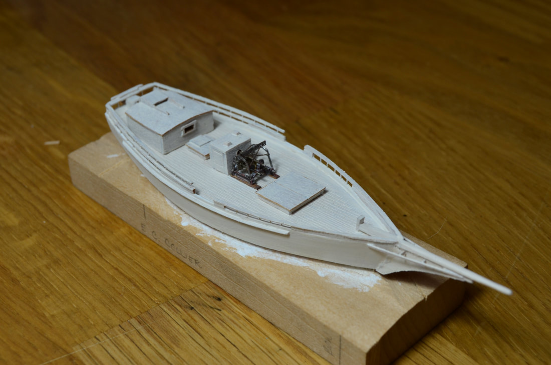 Skipjack E. C. Collier mini model